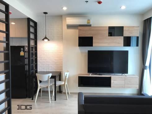 IDEO สามย่าน:   by IDG interior decoration studio Co.,Ltd.