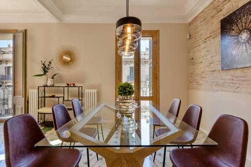 Detalle comedor: Comedores de estilo moderno de Markham Stagers