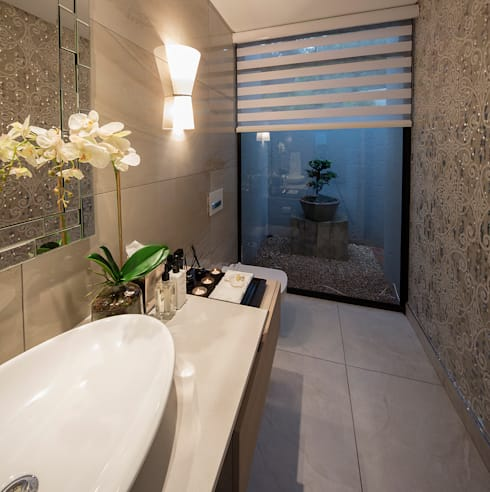 modern Bathroom by Spegash Interiors