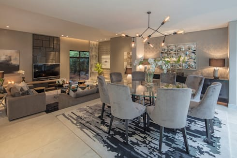 modern Dining room by Spegash Interiors