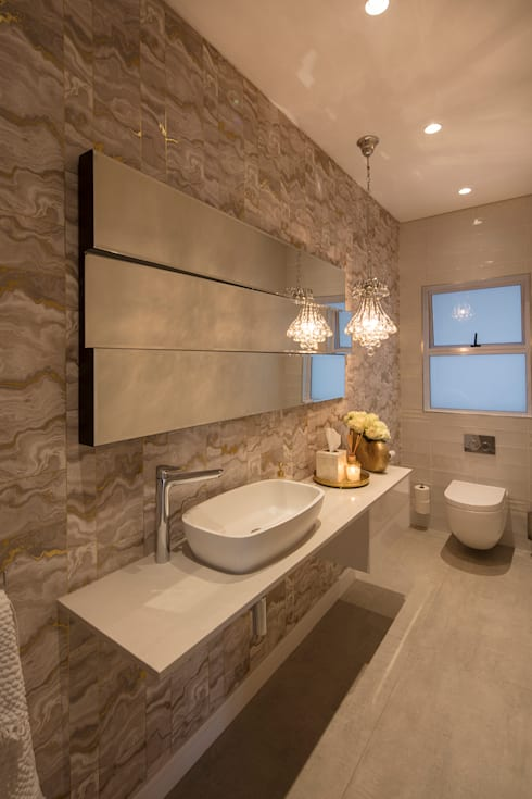 country Bathroom by Spegash Interiors