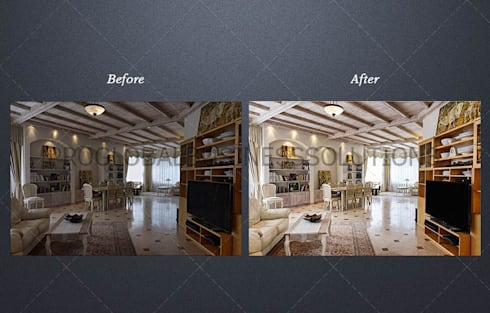Real estate photo editing:   by Proglobalbusinesssolutions
