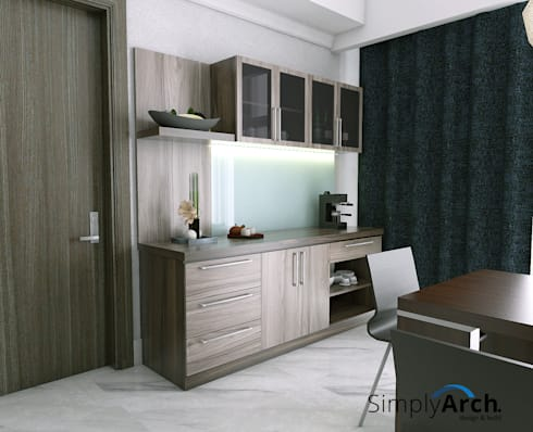 Pantry:  Dapur by Simply Arch.