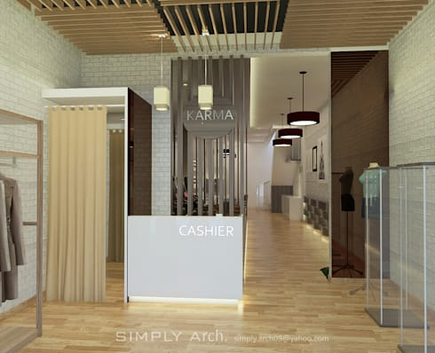 Concept Design for Commercial Project at Green Lake City:   by Simply Arch.