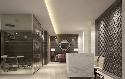 MG Office:   by Budi Setiawan Design Studio