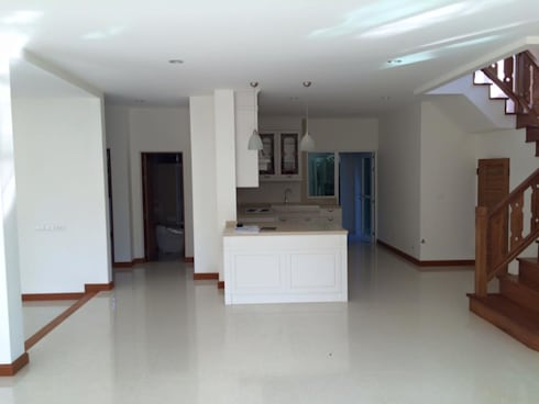 Q avenue พระราม5:   by IDG interior decoration studio Co.,Ltd.