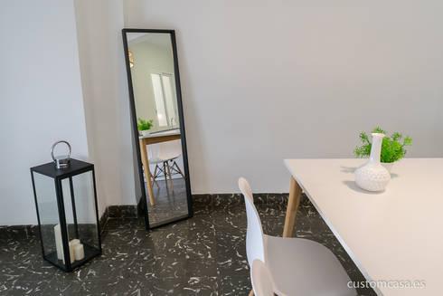 Singular vivienda de estilo n rdico en valencia por custom - Home staging valencia ...