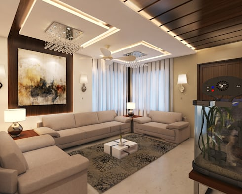 Drawing Room: modern Living room by Arch Point