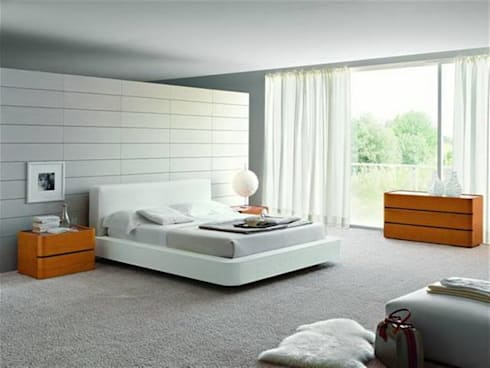 The Master Bedroom: modern Bedroom by Spacio Collections