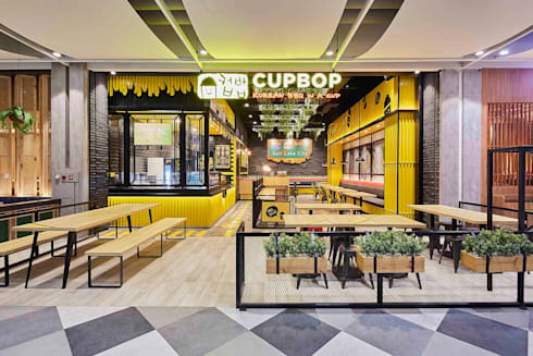 Restaurant Interior Design View:  Restoran by High Street
