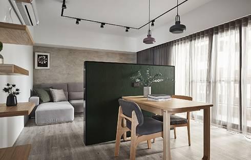 喵星人の森林宅:  餐廳 by 禾光室內裝修設計 ─ Her Guang Design