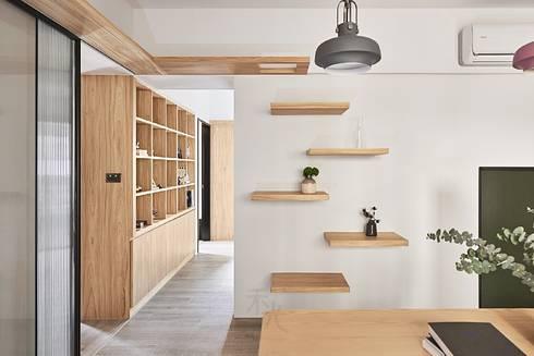 層板設計:  牆面 by 禾光室內裝修設計 ─ Her Guang Design