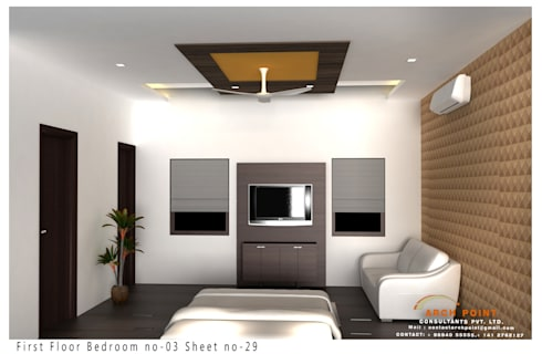 Bedroom Design: modern Bedroom by Arch Point