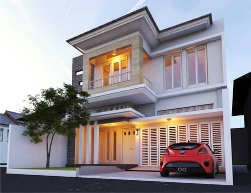 Rumah Tinggal Jl. Cilosari Semarang:   by Manasara Design&Build