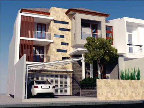 Rumah Tinggal Jl. Candi Prambanan Semarang:   by Manasara Design&Build