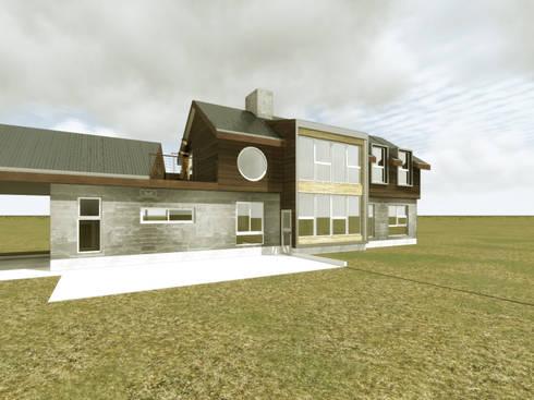 Vista posterior 2:  de estilo  por artefacto arquitectura