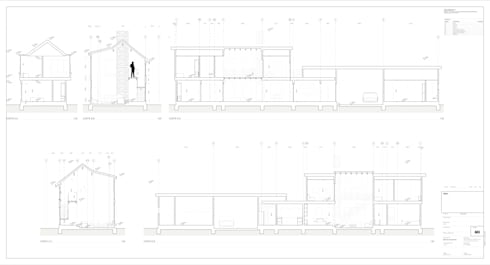 CORTES:  de estilo  por artefacto arquitectura