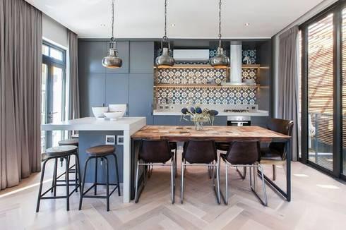 Kitchen Area: industrial Kitchen by Urban Lifestyle Interior Design