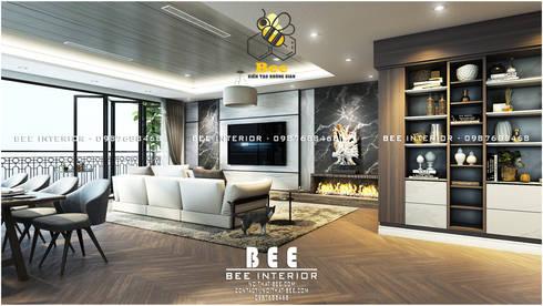 Góc phòng khách:   by Nội thất Bee