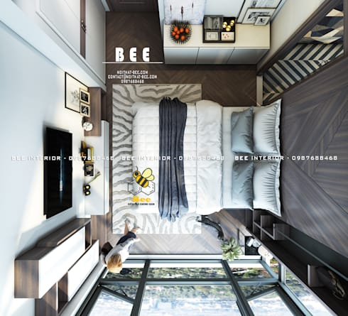 Phòng ngủ:   by Nội thất Bee