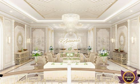 ​Beautiful houses from Katrina Antonovich: classic Living room by Luxury Antonovich Design