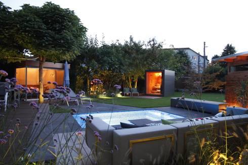 Sauna im Garten von Gartenhauptdarsteller | homify