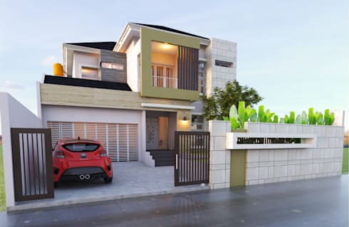 Fasade Depan:   by Manasara Design&Build