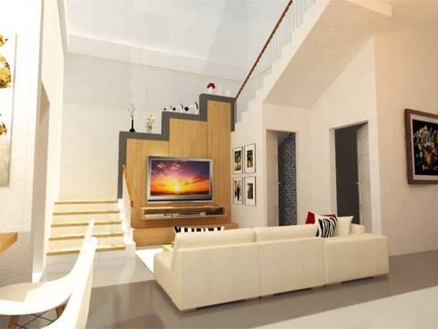 Ruang Keluarga:   by Manasara Design&Build