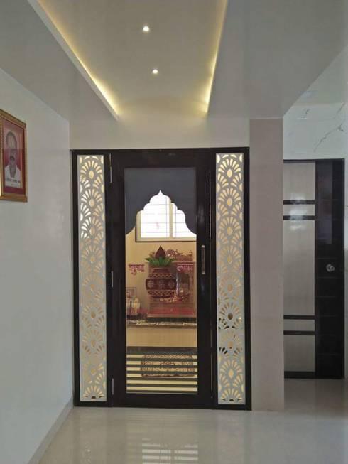 Mandir :  Bedroom by RID INTERIORS