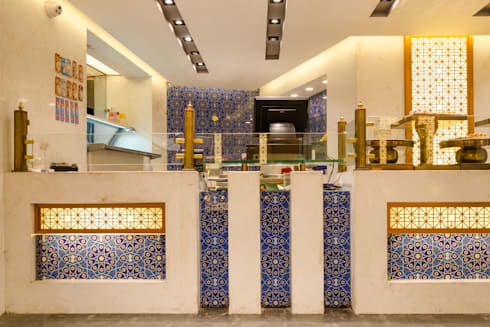 Fashwar patisserie & bakery:  Commercial Spaces by Novelty design studio