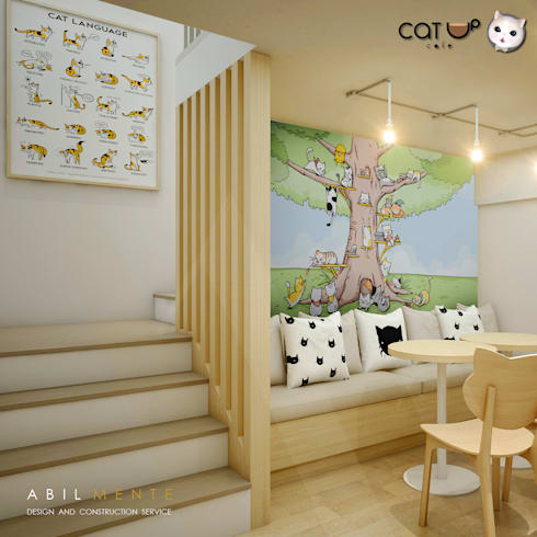 บรรได เอ้ย บันได เอ้ย ถูกแล้ว:  ร้านอาหาร by Abilmente Co.,Ltd