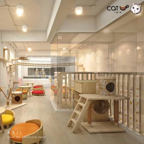 อีกมุมกับ ของเล่นของเจ้าเหมี๊ยว:  ร้านอาหาร by Abilmente Co.,Ltd