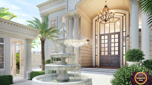 ​Architectural consultant in Dubai Katrina Antonovich: classic Houses by Luxury Antonovich Design