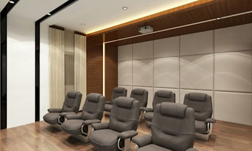 Mr. Arun reddy Home Interior Design : asian Living room by Walls Asia Architects and Engineers