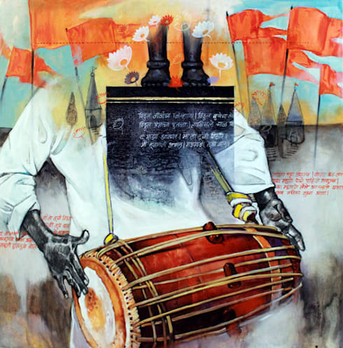 Samwad3/1:  Artwork by Indian Art Ideas