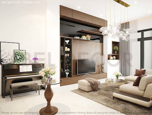 Project: HO1786 House/ Bel Decor:   by Bel Decor