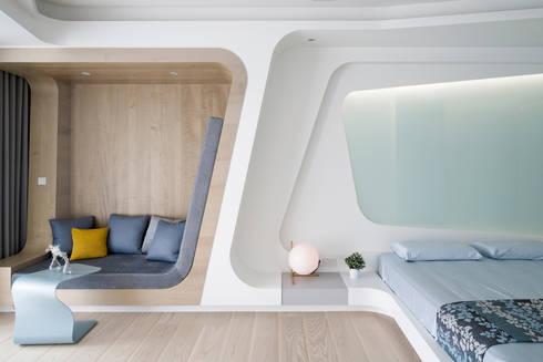 ROOM3:  臥室 by Nestho studio