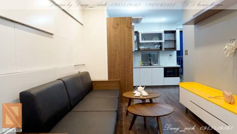 Chung cư vinaconex 16:  Nhà bếp by DD Home Design Việt Nam