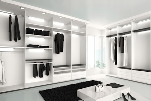 Residential: modern Dressing room by  Eminent Enterprise LLP