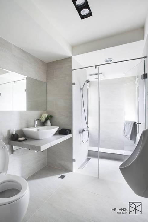 泡澡區:  浴室 by 禾廊室內設計