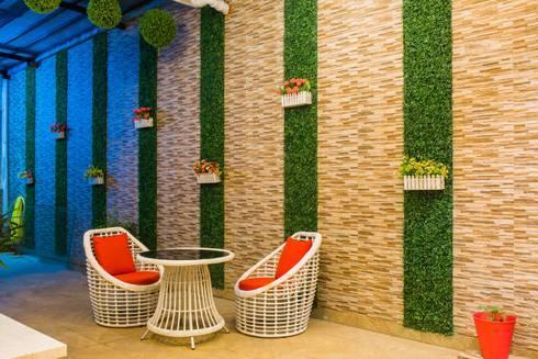 Goel's, Aanandam World City, Raipur: modern Houses by ES Designs