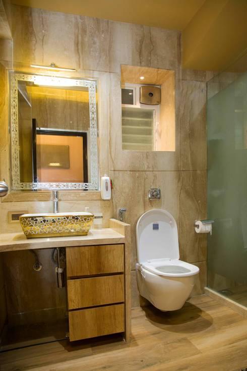 Ms. Suman, Chembur: modern Bathroom by Aesthetica