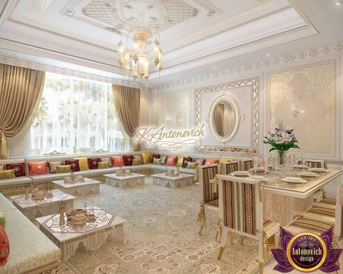 Interior design company in Dubai Luxury Antonovich Design: asian Dining room by Luxury Antonovich Design