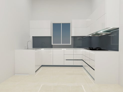 modern kitchen design:   by interior and furniture design