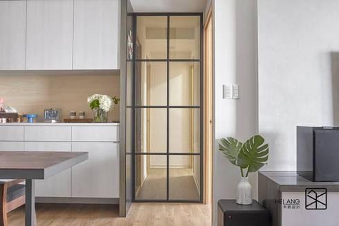 鐵件拉門:  窗戶與門 by 禾廊室內設計