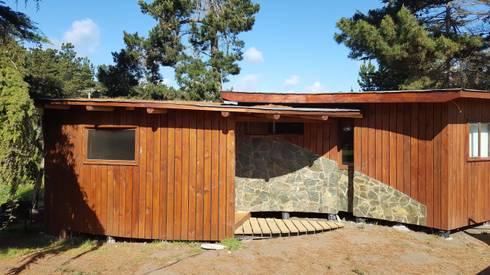 Kimche Lodge: Casas de madera de estilo  por Kimche Arquitectos