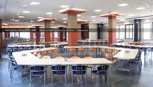 The Dining Hall:   by Envision Design Studio