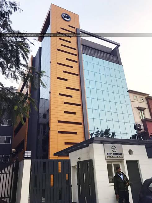 Exterior Facade:   by Envision Design Studio