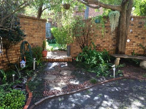 Garden Entance After:   by Hedgehog Landscapes