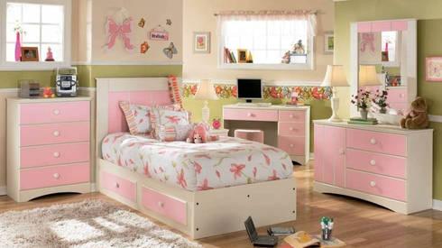 Nội thất phòng ngủ dành cho bé gái:   by Thương hiệu Nội Thất Hoàn Mỹ